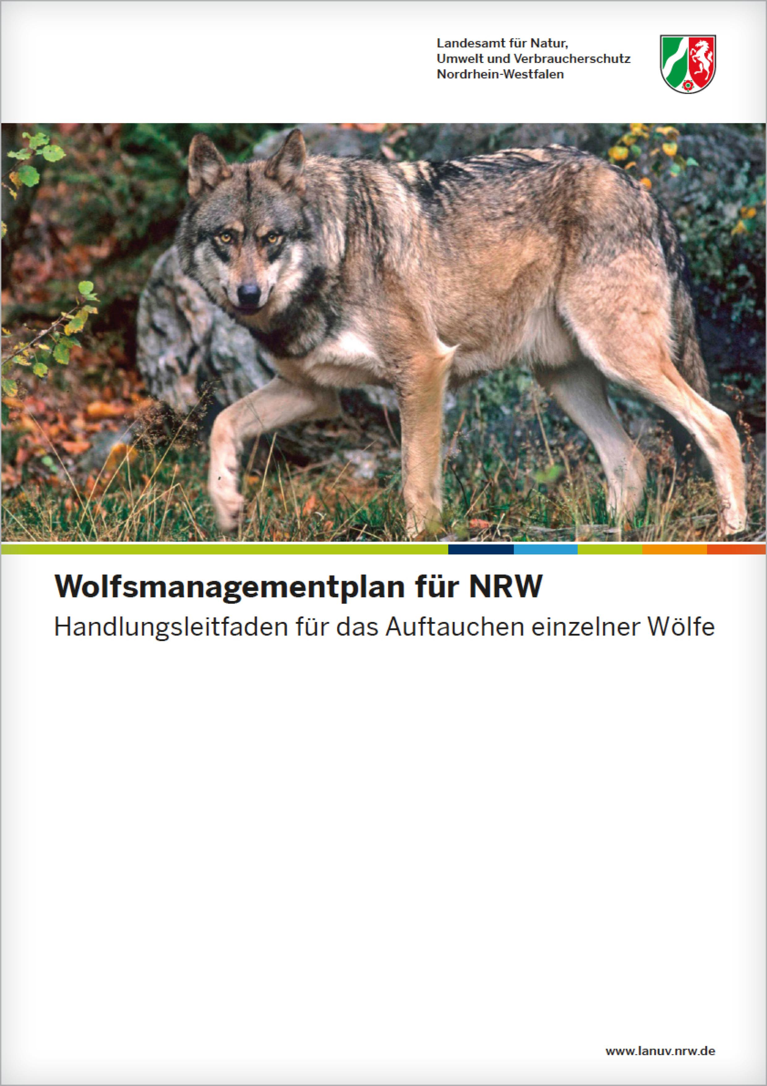 Wolfsmanagementplan-NRW